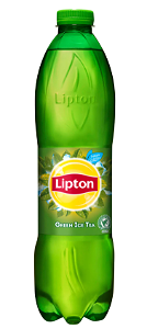 Foto Ice tea green, fles